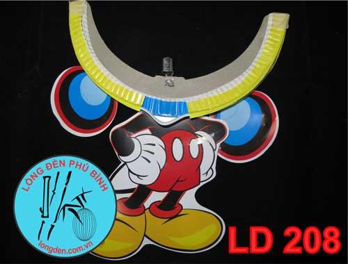 Lồng Đèn Trung Thu Giấy Xếp Chuột Mickey
