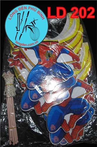 Lồng Đèn Trung Thu Giấy Xếp Người Nhện Spiderman