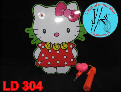 Lồng Đèn Pin Trung Thu Mèo Kitty