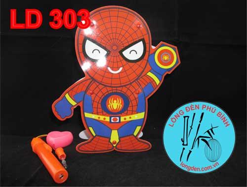 Lồng Đèn Pin Trung Thu Người Nhện Spider Man