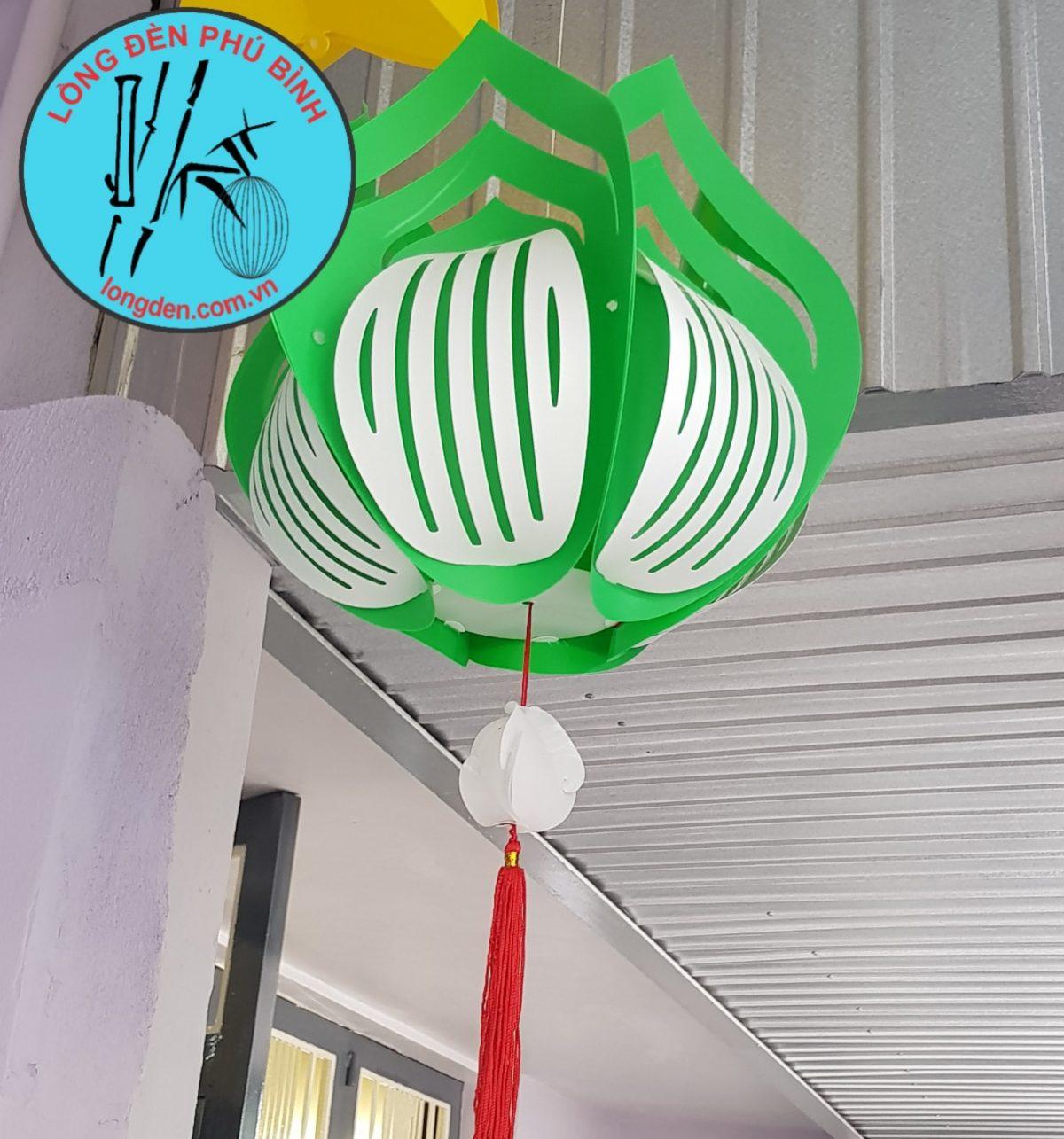 Lồng Đèn Hoa Sen Trang Trí